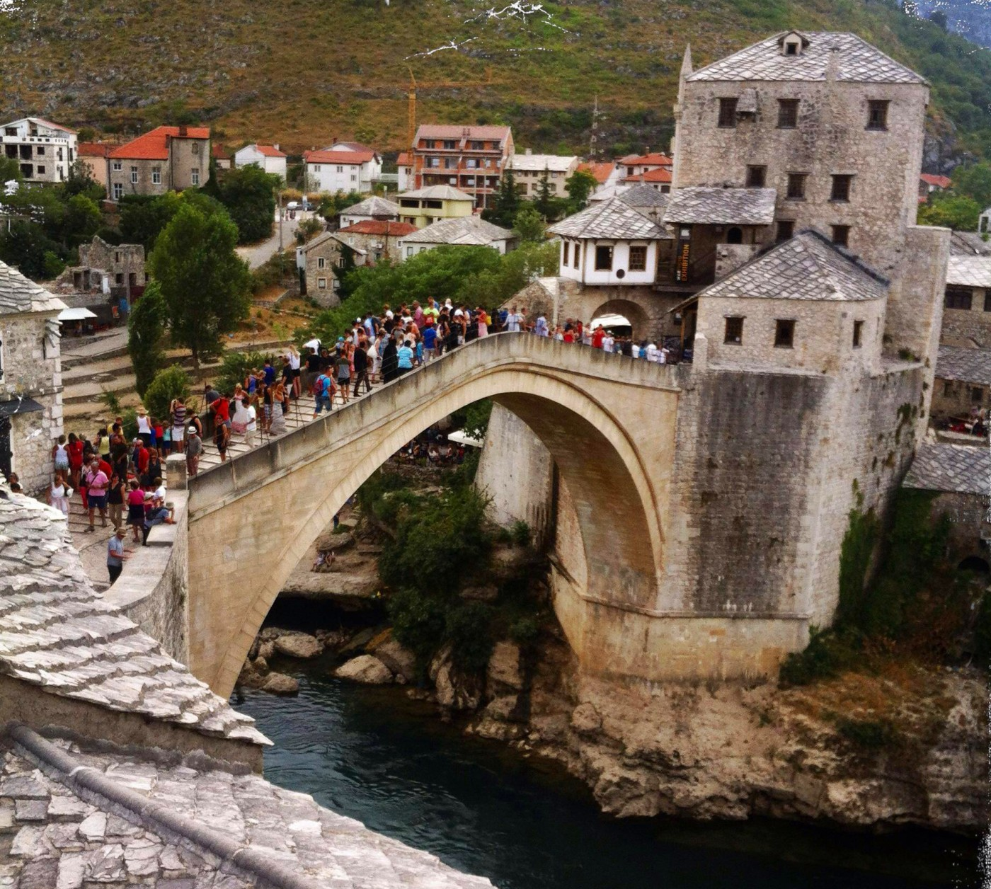 The Bridge of Mostar. (c) balkanblogger.com