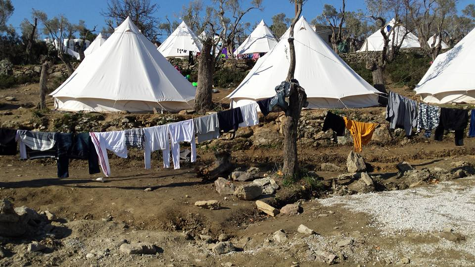 Greek authorities are struggling to provide adequate shelter as other EU countries do not provide enough aid and leave Greece to deal with the Situation on ist own. Photo: (c) Betty Martin
