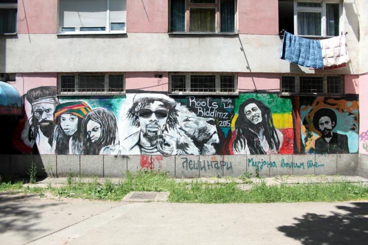 Someone seems to like Reggae here.