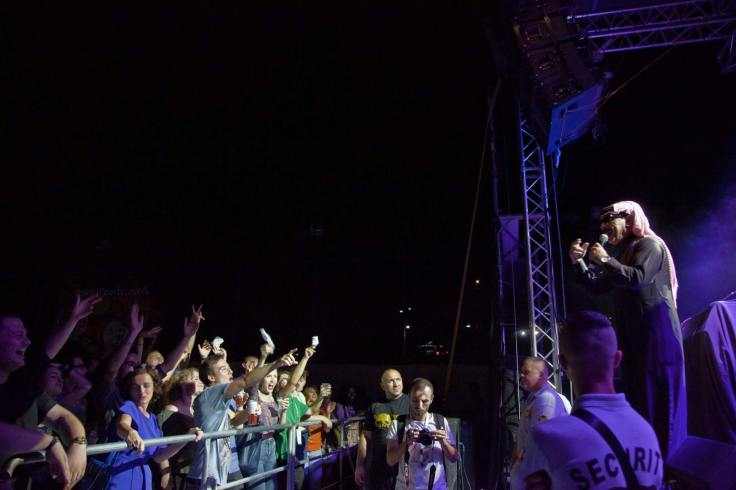 Dokufest's Opening Act: Omar Souleyman Photo: (c) Majlinda